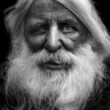 Šedivý muž / Elderly bearded man