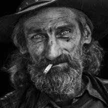 Portrét charismatického kovboje / Portrait of a charismatic cowboy